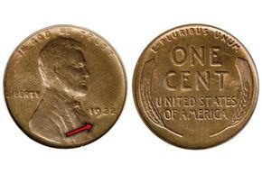 """Find out If You Have One of the Most Valuable Lincoln Wheat Pennies: 1922 No """"D"""" (No Mint Mark)"""
