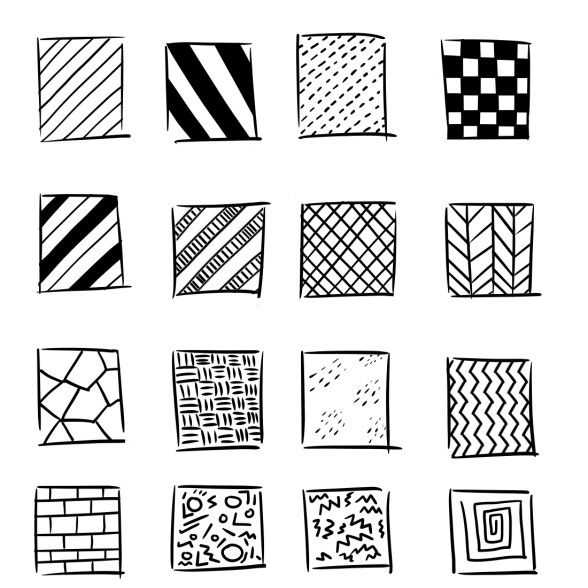 Simple Patterns To Draw