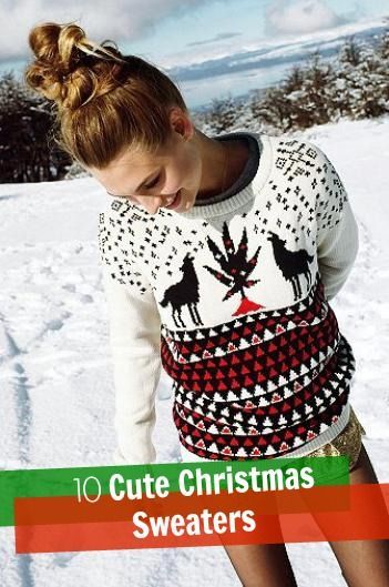 10 Cute Christmas Sweaters