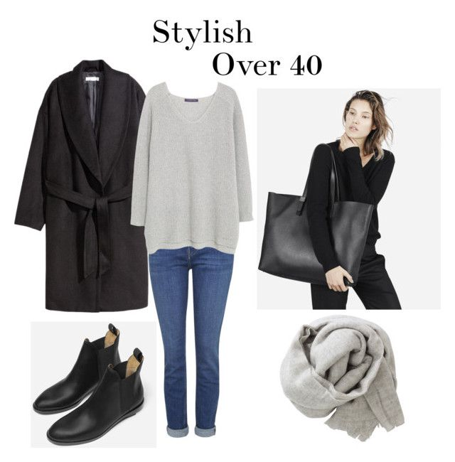 Stylish Over 40 on Polyvore featuring Violeta by Mango, H&M, Topshop and Brunello Cucinelli
