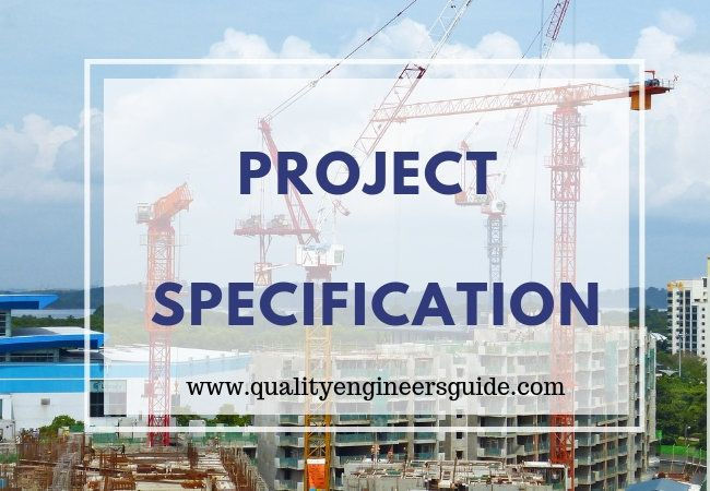 How Construction Specification Could Help You Build A Huge Project Civil Engineering Works Construction Projects