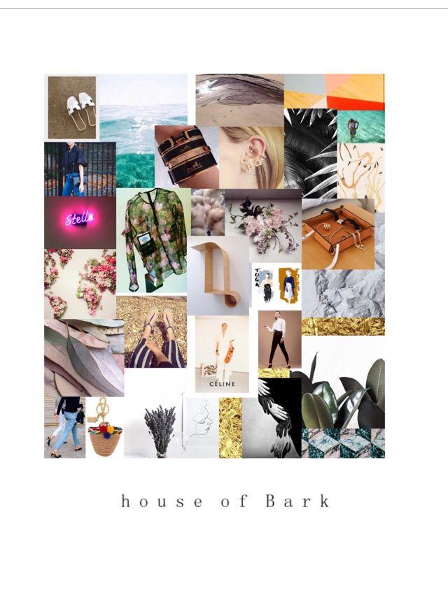 M o o d b o a r d #houseofbark