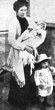 It is not clear which lifeboat rescued the Deans. Eva boarded one boat with her daughter but lost track of her young son. Eva was reunited with her son on the Carpathia, but her husband lost his life. The Dean's arrived in New York where Eva and her children were taken to hospital to recuperate.  Eva received £40 from an Emergency Relief Fund and a pension of 23 shillings per week for the care of her children until they were 18.