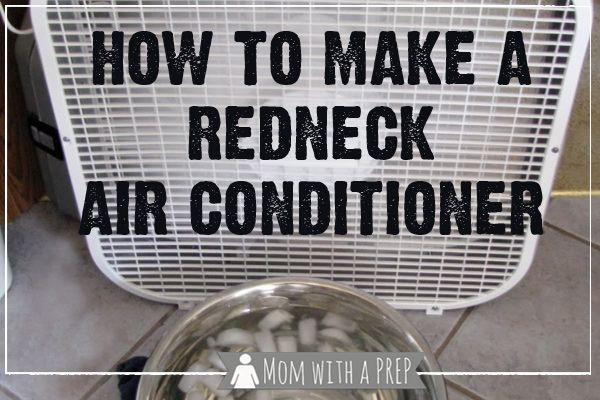 Summer's here and your air conditioning went out. How do you stay cool until it can be reparied?