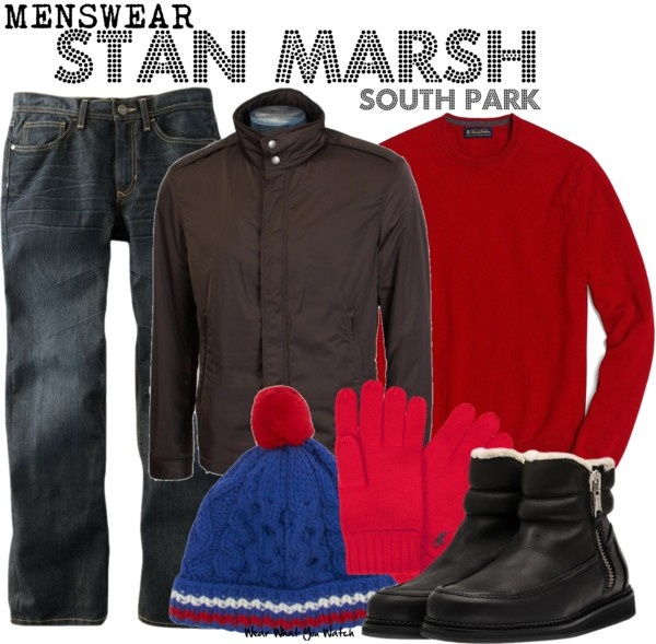 Inspired by character Stan Marsh voiced by creator Trey Parker on South Park.