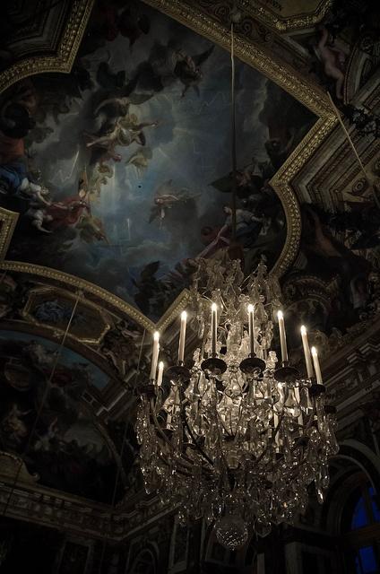 """Le Roi Soleil""'s house."