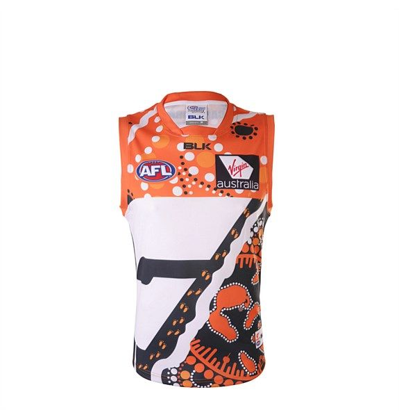 BLK | Pro Team Sporting Apparel & Accessories - GWS Giants Indigenous Replica Guernsey Junior 2015