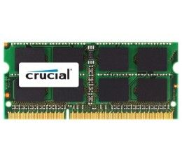 Crucial 4GB Single DDR3 1333 MT/s (PC3-10600) CL9 204-Pin 1.35V/1.5V SODIMM Memory For Mac CT4G3S1339M