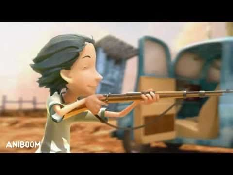 Oscuro Cardinal - A Make Believe Aniboom Animation by Adrian Guerra - YouTube
