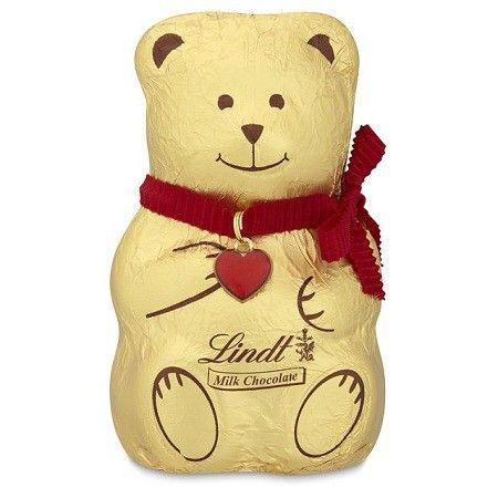 Lindt bear chocolate.
