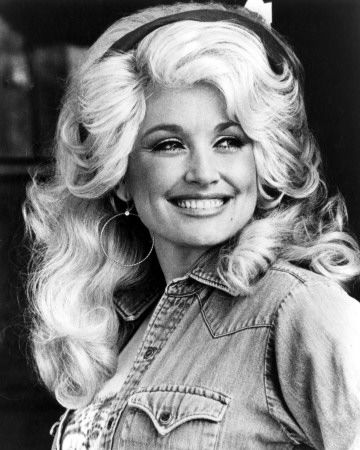 lovelovelove Dolly.  I am obsessed with her figure and her voice, probably in that order.