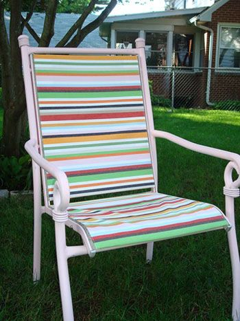 Before And After Patio Chairs From Trash To Treasure