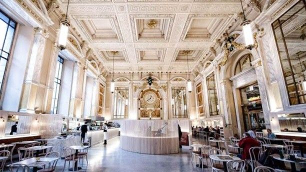 Cafe Royal - in the train station on Antwerp