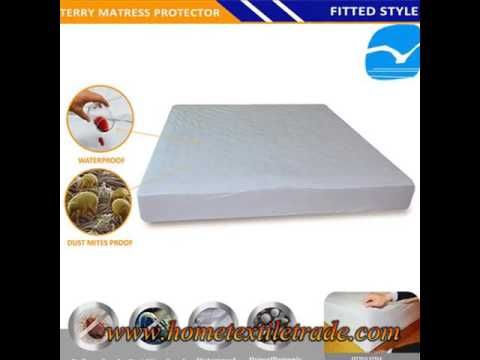 Baby Cot Bed Mattress Fitted Sheet Protector Cover
