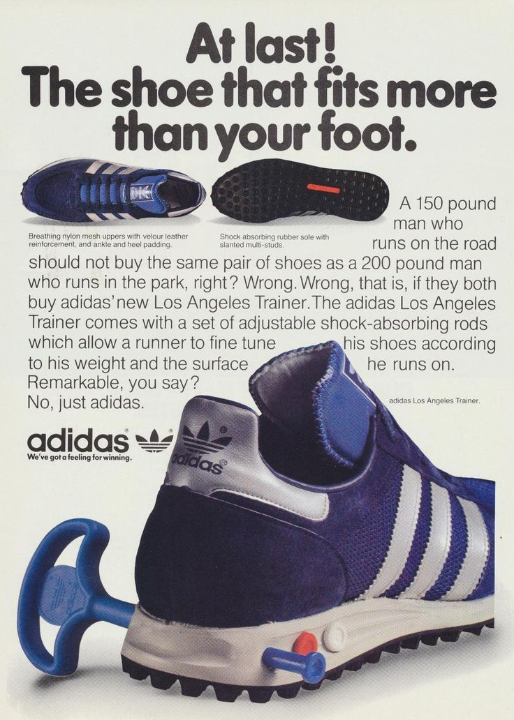 adidas Los Angeles: Launched in 1984. #boostjaures #runningstyle