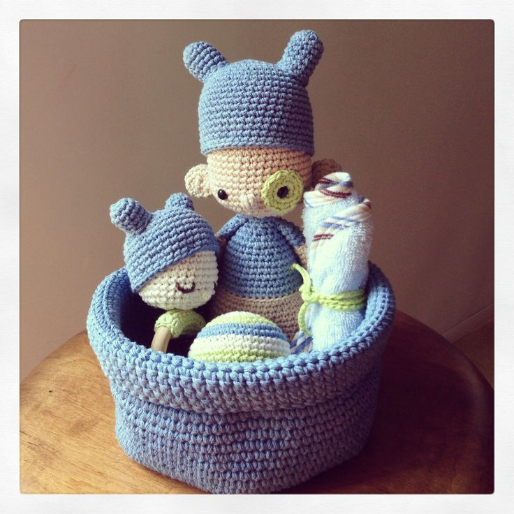 Gift basket by Amour Fou... amourfou-crochet.com