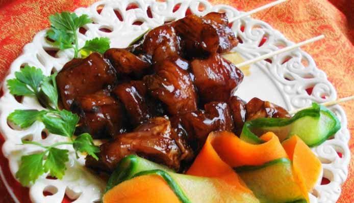 Surinaams eten – Saté Trafasie (exclusieve saté)