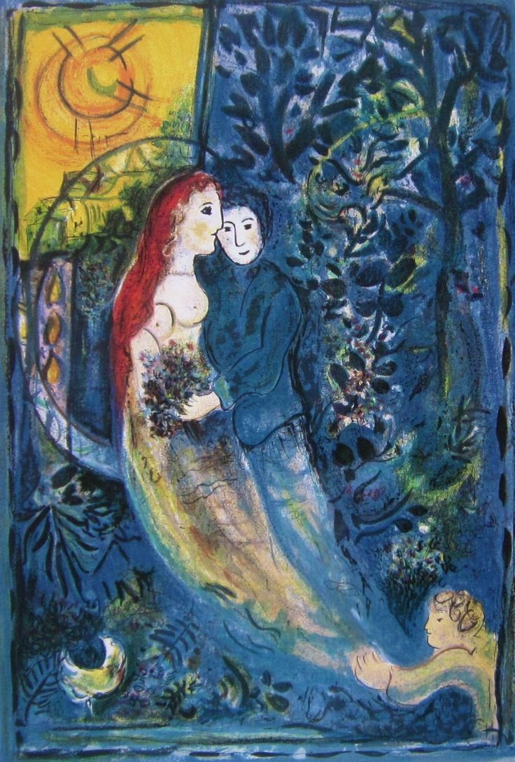Les 252 meilleures images du tableau chagall sur pinterest for Chagall tableau