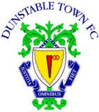 DUNSTABLE TOWN FC . other logo. I remember having my leg broken by one of their defenders. Ended my career. Thanks for that.