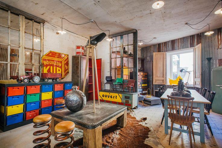 Du mobilier industriel et vintage