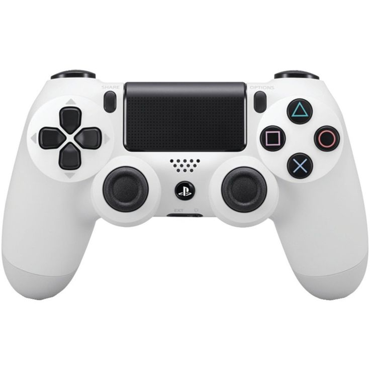 Wireless Controller PS4 - DualShock 4 - Glacier White (Sony)  https://www.retrogamingstores.com/gaming-accessories/ps4-controller-wireless-dualshock-4-glacier-white-sony-nxp4-030  Absolute control for all games on PlayStation®4.