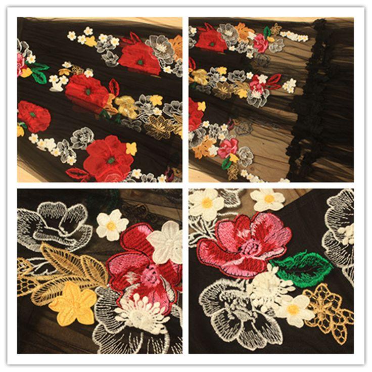 Malha sheer vestidos bordados magro voltar bordado floral dress partido moda verão flores gola redonda vestidos de festa em Vestidos de Das mulheres Roupas & Acessórios no AliExpress.com   Alibaba Group