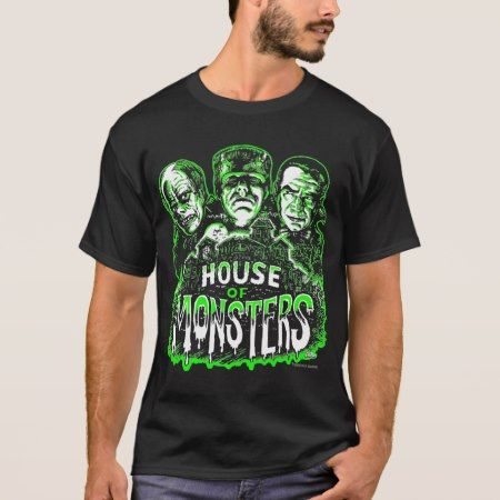 House of Monsters T-Shirt - tap, personalize, buy right now!