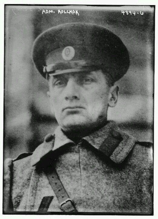 Адмирал Колчак. Kolchak. White Army. Siberian Commander.