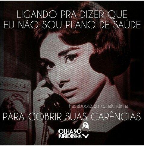 Mas não mesmo... Audrey Hepburn #OlhaSóKiridinha