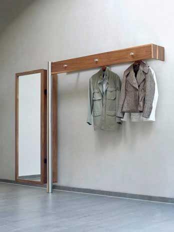 ber ideen zu garderobe edelstahl auf pinterest. Black Bedroom Furniture Sets. Home Design Ideas