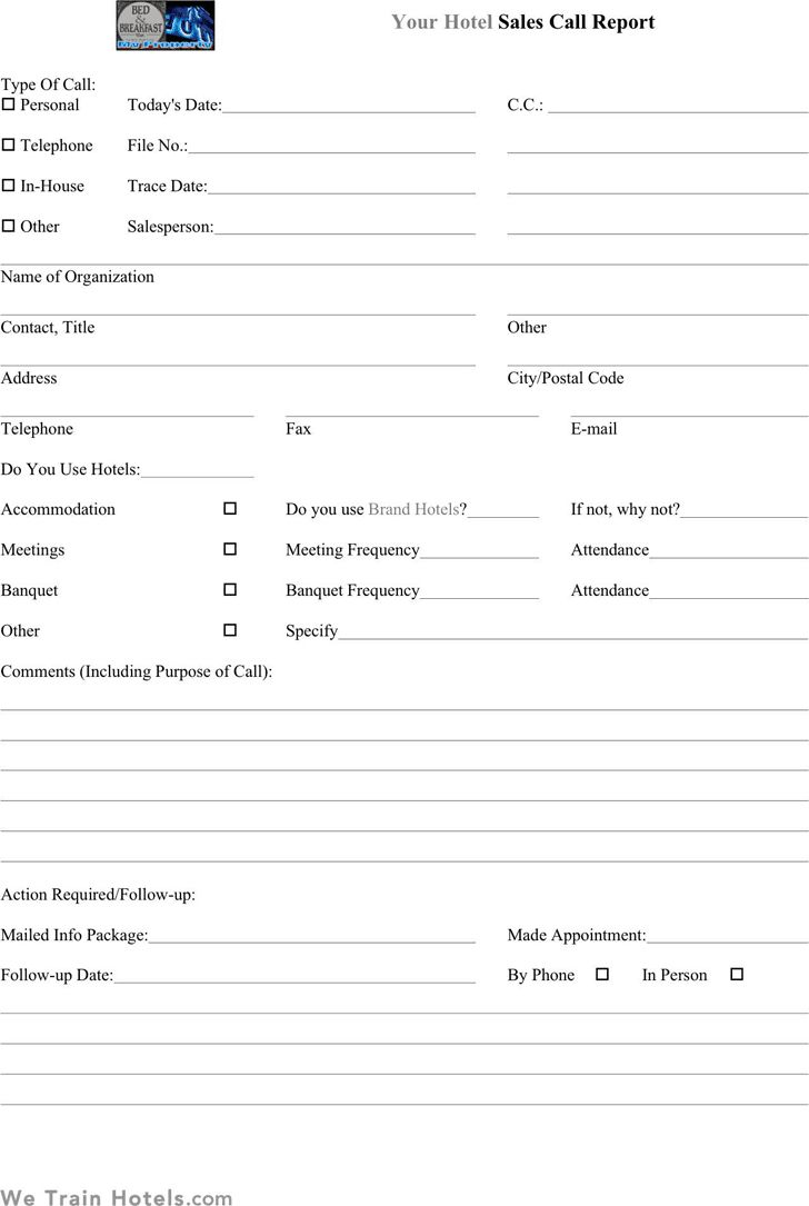 Sales Call Report Templates Word Excel Fomats In Daily Sales Call Report Template Free Download Best Sample Templa Report Template Best Templates Templates