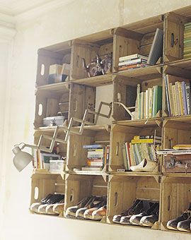Wine Crate Shelf