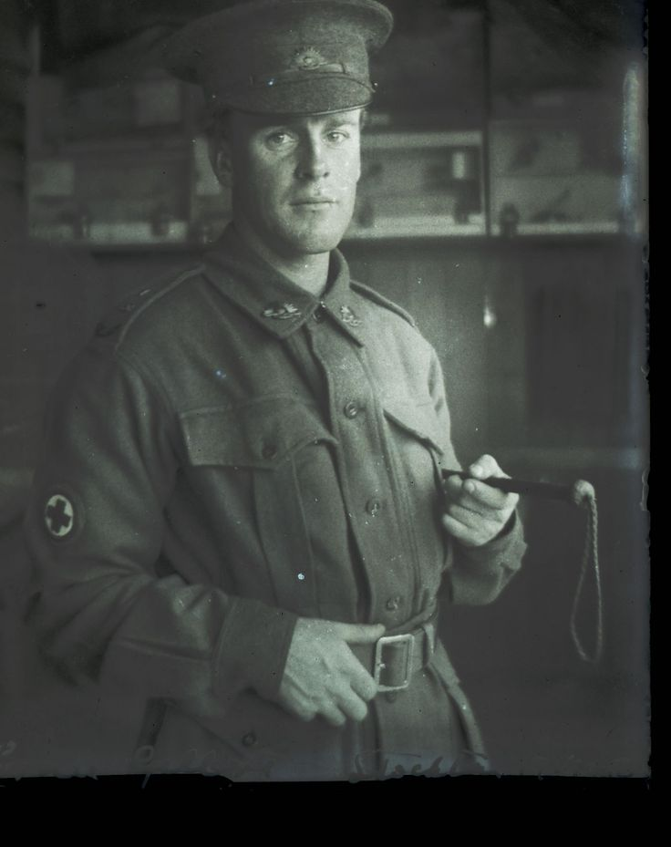 Sharing Ernie Gilbert Stockton off to war [about 1916] at Living Histories