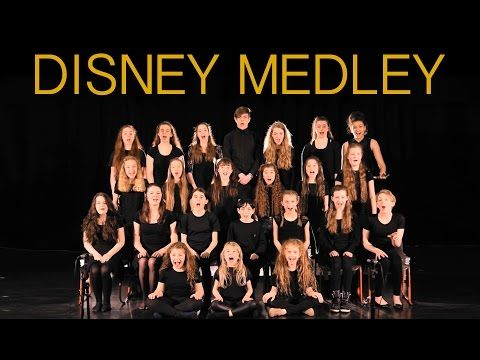 Live DISNEY Medley, by fantastic young singers. - YouTube