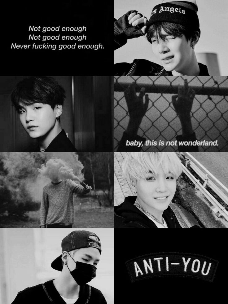 Min Yoongi from BTS #aesthetic #handsome