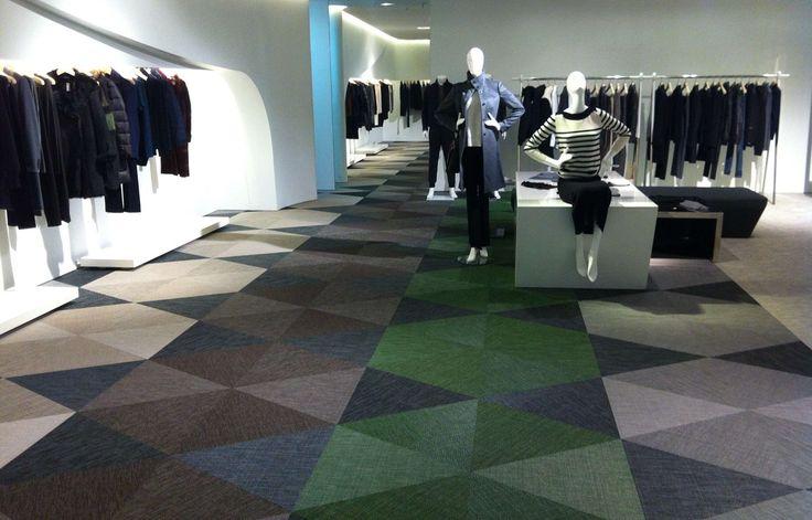 Bolon flooring in LG Fashion Store, Seoul