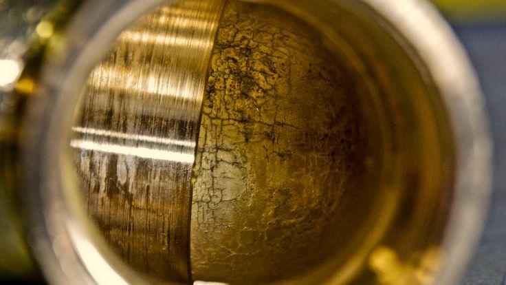 Brass. Fitting, Brass elbow. Photo By. Knut Erik Blom
