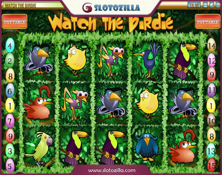 Watch The Birdie Slots - Play this Video Slot Online