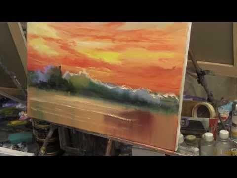 Сахаров, уроки рисования и живописи для начинающих - YouTube