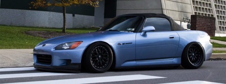 Slammed and Fitted S2000