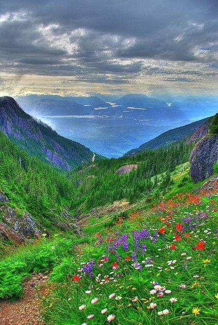 Mount Arrowsmith, Vancouver, British Columbia.