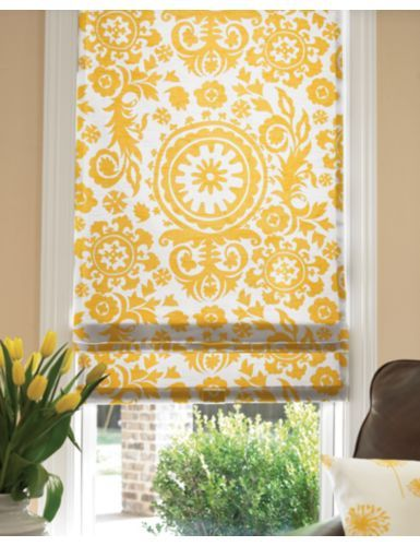 Love this color combination of the yellows with the browns.  From Smithandnoble.com