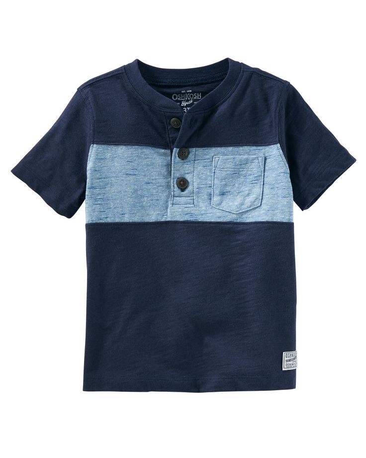 18-24 month Baby Boy Striped Jersey Tee | OshKosh.com