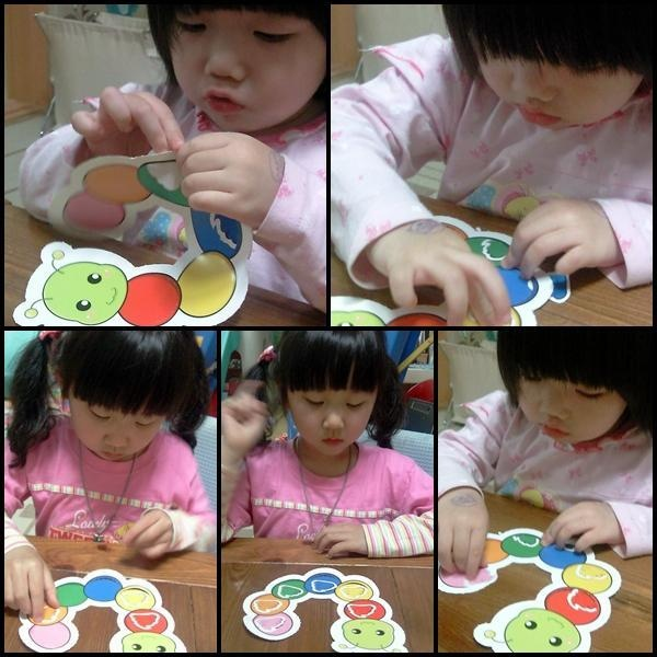 making a larva studying colors! it is very funnnnn!!!!