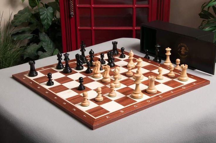 The Grandmaster Chess Set and Board Combination #TheHouseofStaunton
