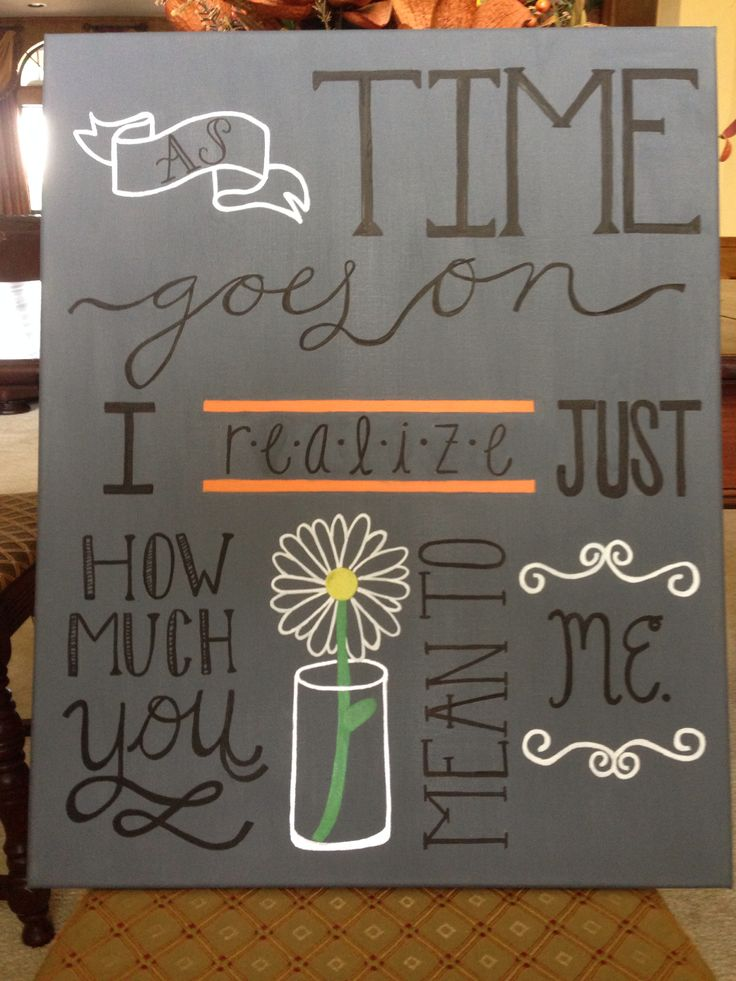 DIY canvas art, quote canvas