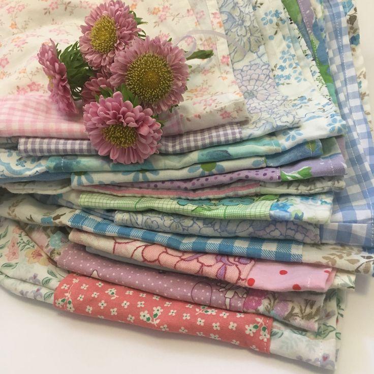 Girls shorts handmade children's clothing vintage upcycled fabric floral @lueysmum vintage boho style byron bay