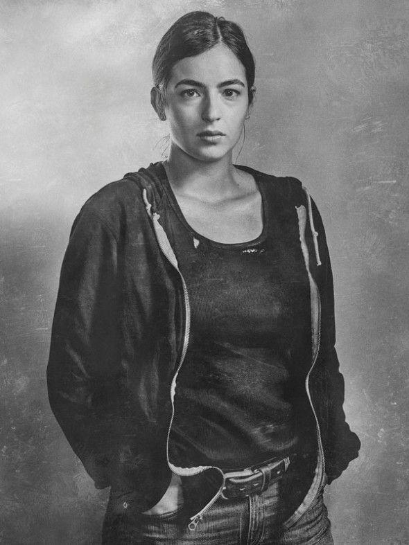 the-walking-dead-6-temporada-silver-portrait-alanna-masterson-tara-chalmers