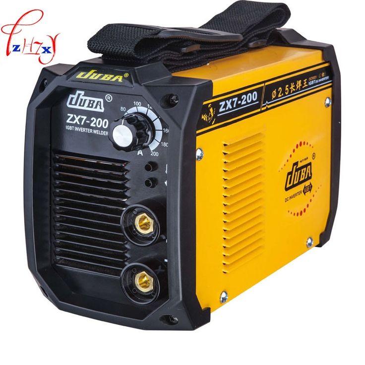 67.50$  Buy here  -  Hot Selling Household mini all- copper welder Portable Welding Inverter ARC ZX7-200 Electric welding machine