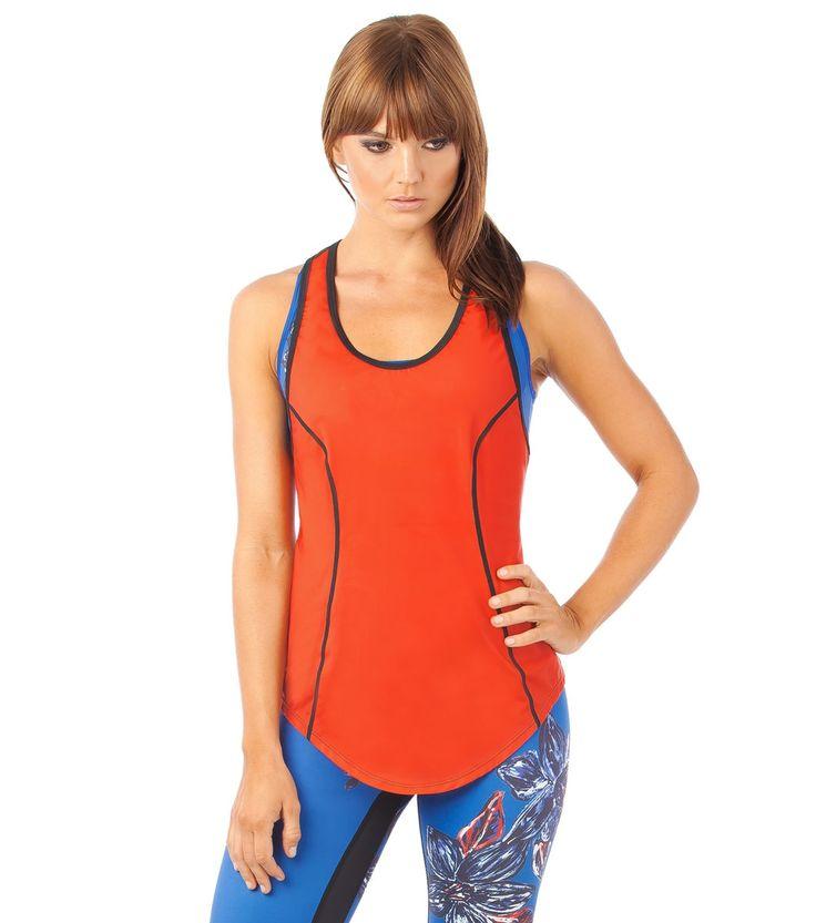 She's A Goddess Bright Eyes Cami - Red www.lurv.com.au #lurvsportswear #lurvlife